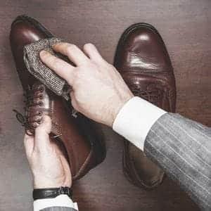 靴の手入れがおしゃれ度を上げる。ドレスシューズのお手入れ方法