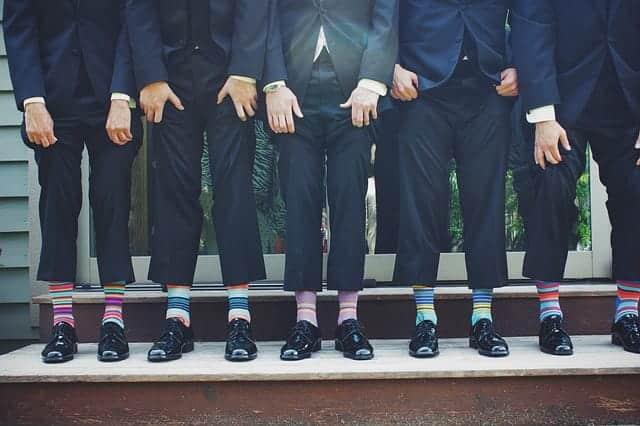 靴下の使い方次第で、秋まで活躍する夏サンダルコーデ