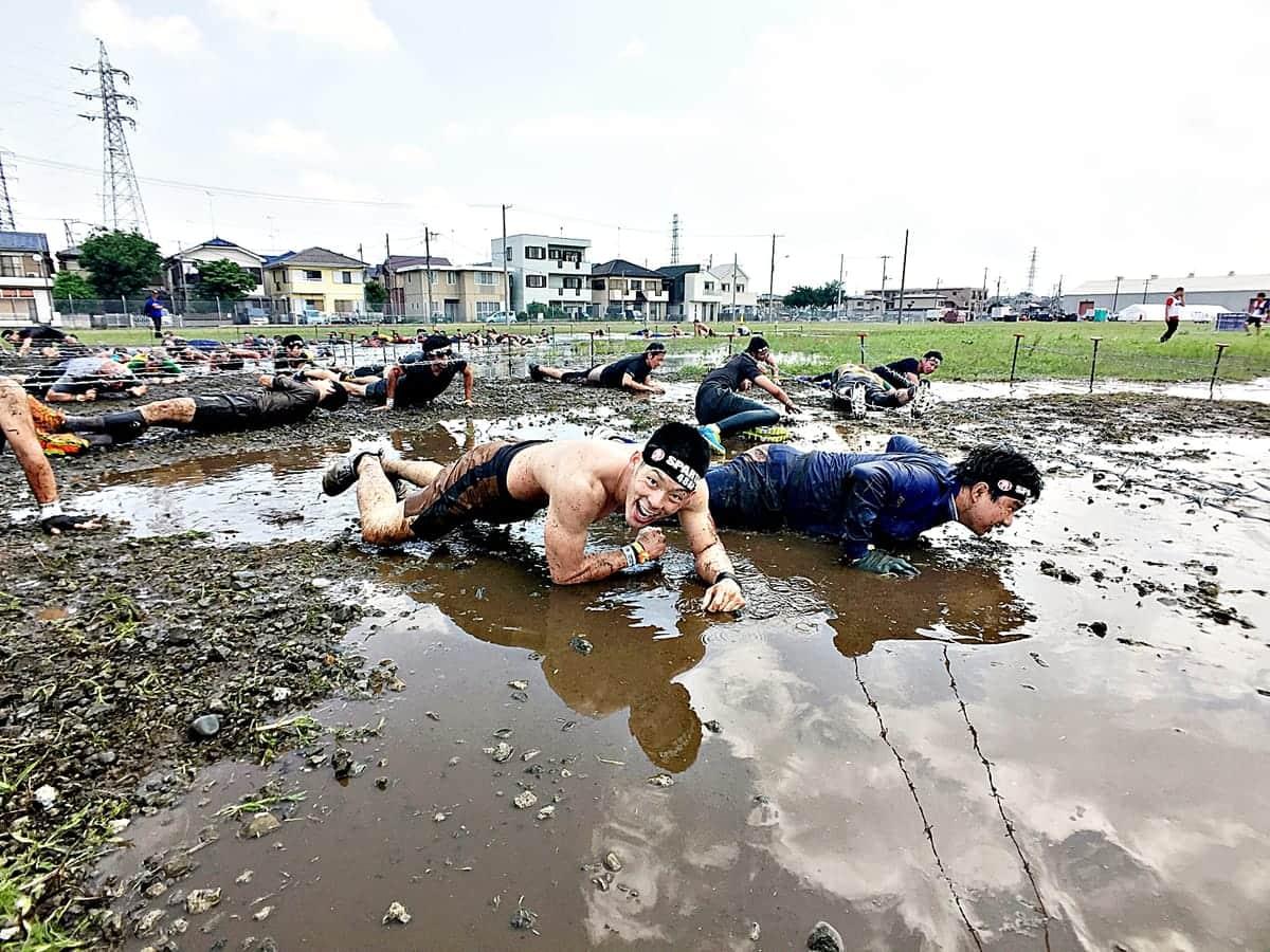 火、泥、水、有刺鉄線をくぐり抜ける障害物レース『リーボック スパルタンレース』が日本初上陸!