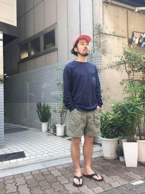 バーベキューに合う、『外遊び』ファッションコーデ【メンズ編】