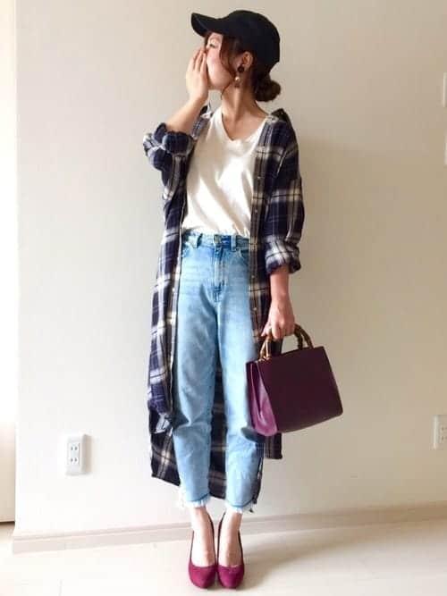 『グレンチェック』が気になる!! ワイドパンツやタイトスカート…… チェック柄の正解コーデは!?