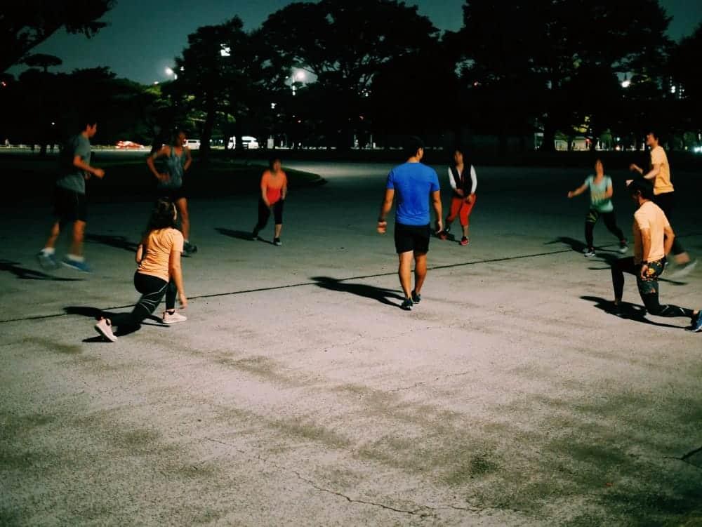 リーボック契約トレーナーと一緒にトレーニングができるプログラムに参加してきた!