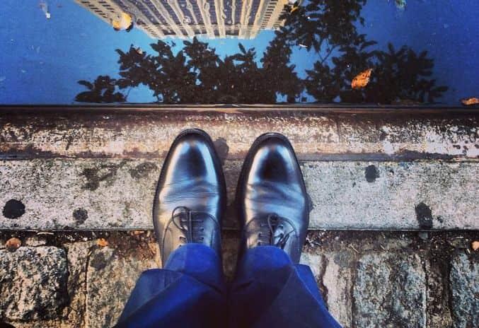 雨の日の靴のお手入れ