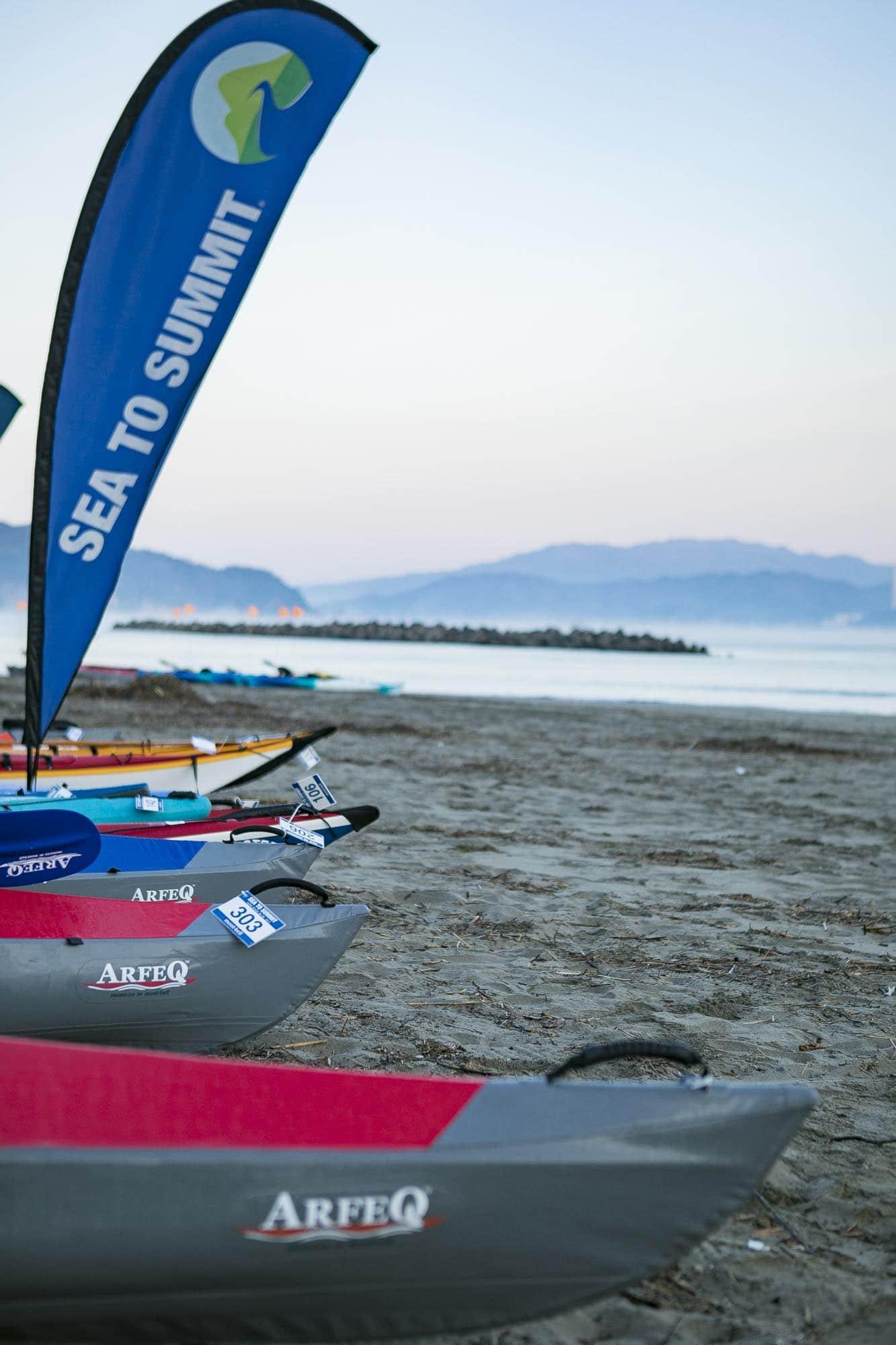 5月から続々とレース開始 ! 海から山のてっぺんをめざす新スポーツ『シートゥーサミット』