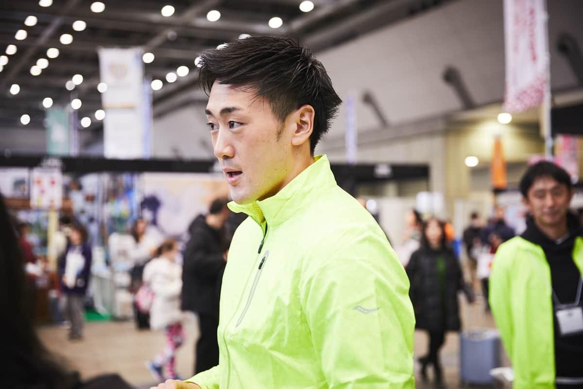ライフセーバーの森新太郎とサッカニーとめぐる、東京マラソンEXPO 2018レポート!