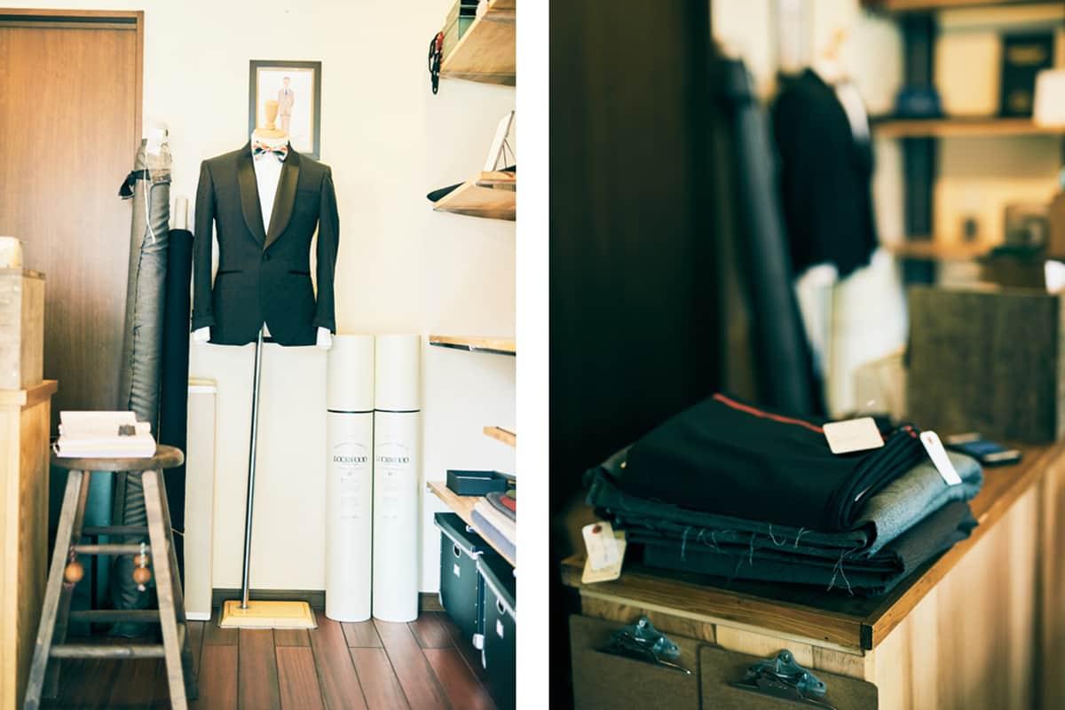 〈スニーカーで通勤する、あの人の朝の過ごし方 vol.2〉青木屋テーラー店主・青木大祐さんの朝とお客さんの心と体にフィットするファッション