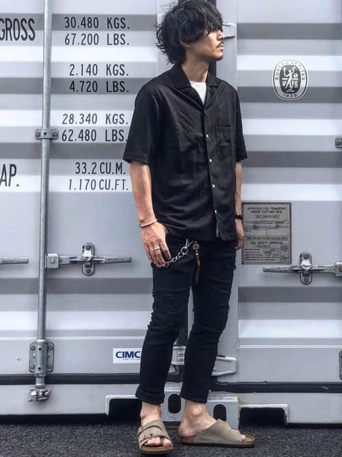 """夏の着こなしを爽やかに!! トレンドの""""開襟シャツ""""を取り入れたコーデ5選"""