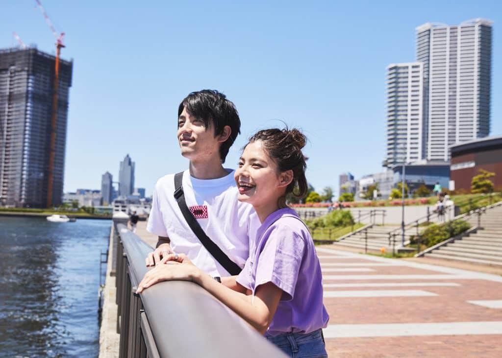 のんびり休日デートはリンクコーデで♡カフェ〜公園まで、豊洲のオススメデートスポット特集!