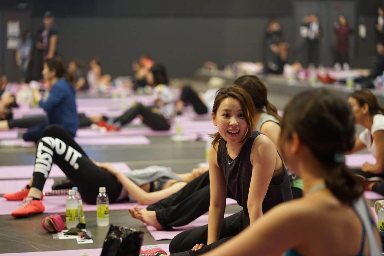 土屋太鳳さんや仲里依紗さんのパーソナルトレーナー・AYAさんがフィットネスイベント
