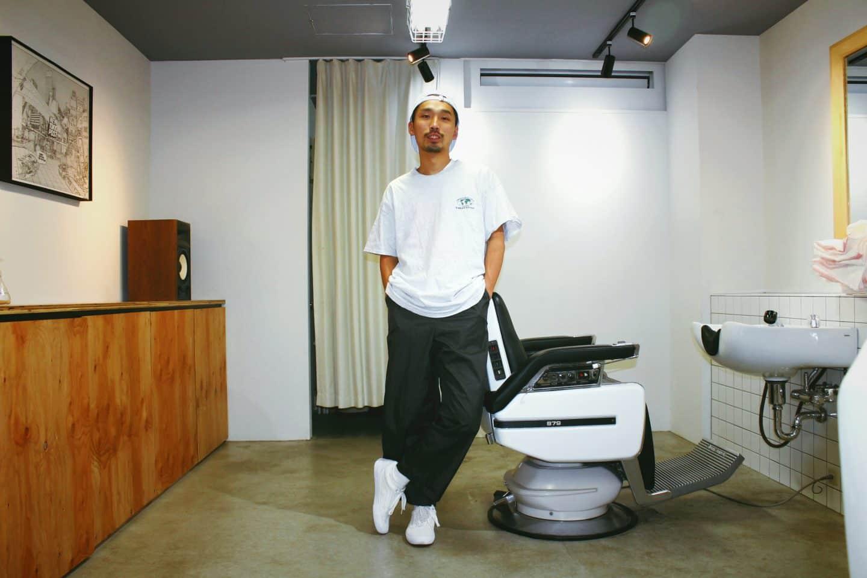 <街でウワサのあの人が履く、こだわりのスニーカーVol.1>BARBER SAKOTAの店主・迫田将輝