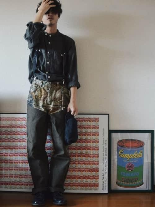 いつでもファッションに爽快感を! スタンドカラーシャツのメンズコーデ5選
