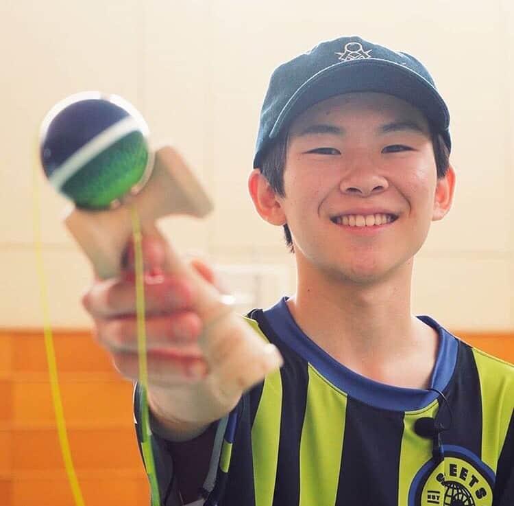 """スポーツとしての""""けん玉""""世界大会Vの17歳「選手になるなんて想像していなかった」"""