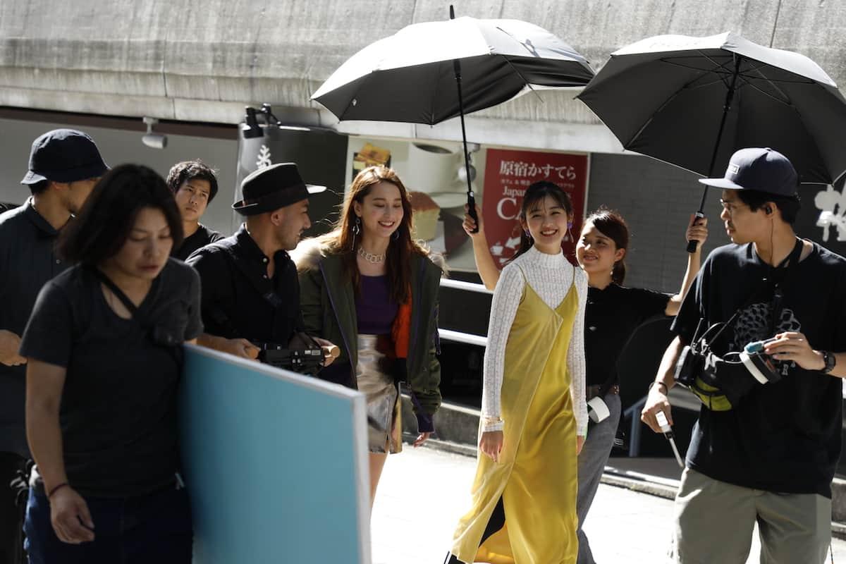 モデルNiki&花音出演「ファッションにスパイスを♡」ヌォーヴ 新シリーズTVCM撮影オフショット&インタビュー<潜入レポート>