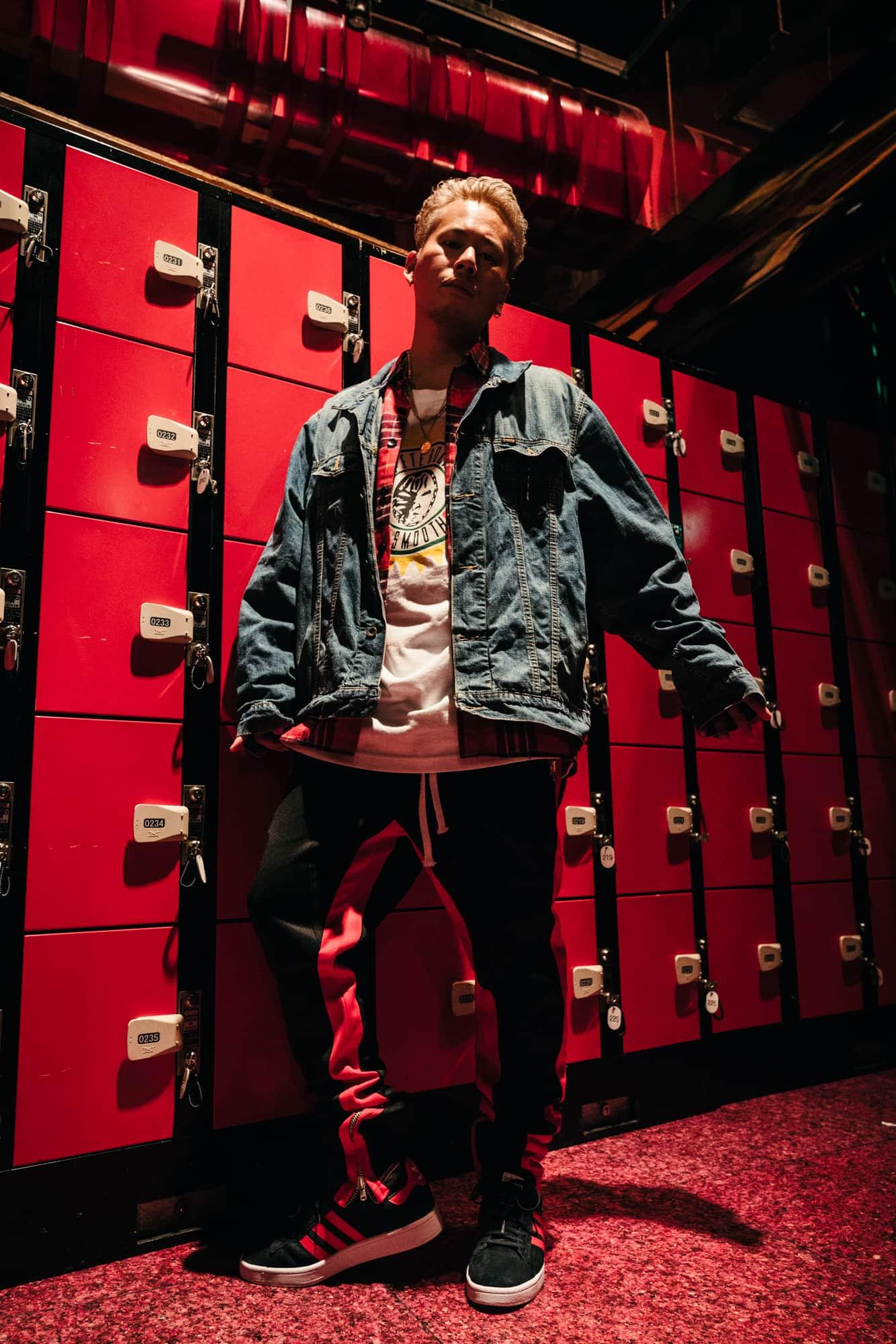 DJ HAL×アディダスの名作モデル・キャンパスのファッションコーデスナップ!DJスタイルやスニーカー歴について聞いてみた@渋谷 HARLEM