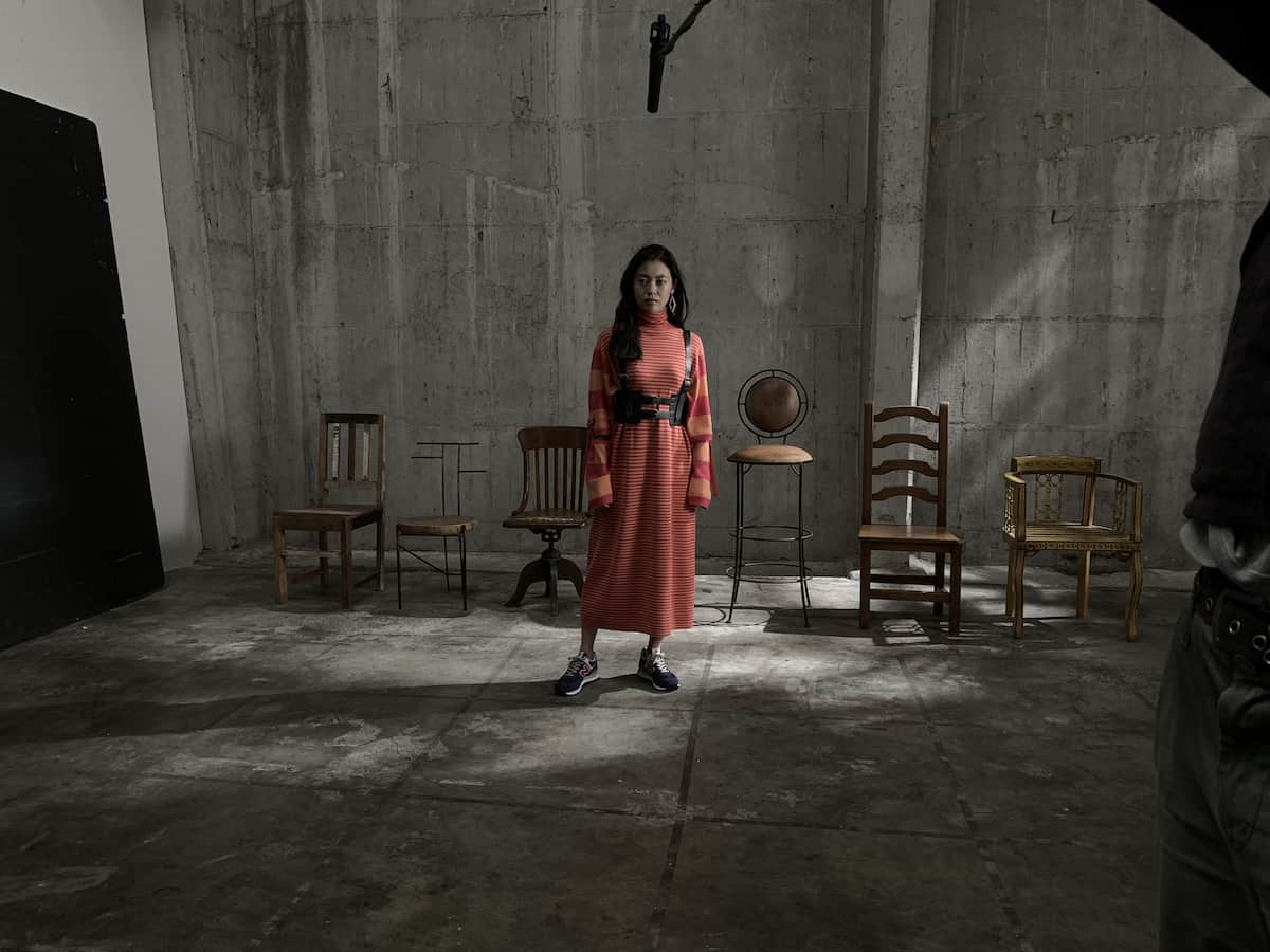 田辺桃子出演「574は誰のもの?」ニューバランスTVCM撮影オフショット&インタビュー<潜入レポート>