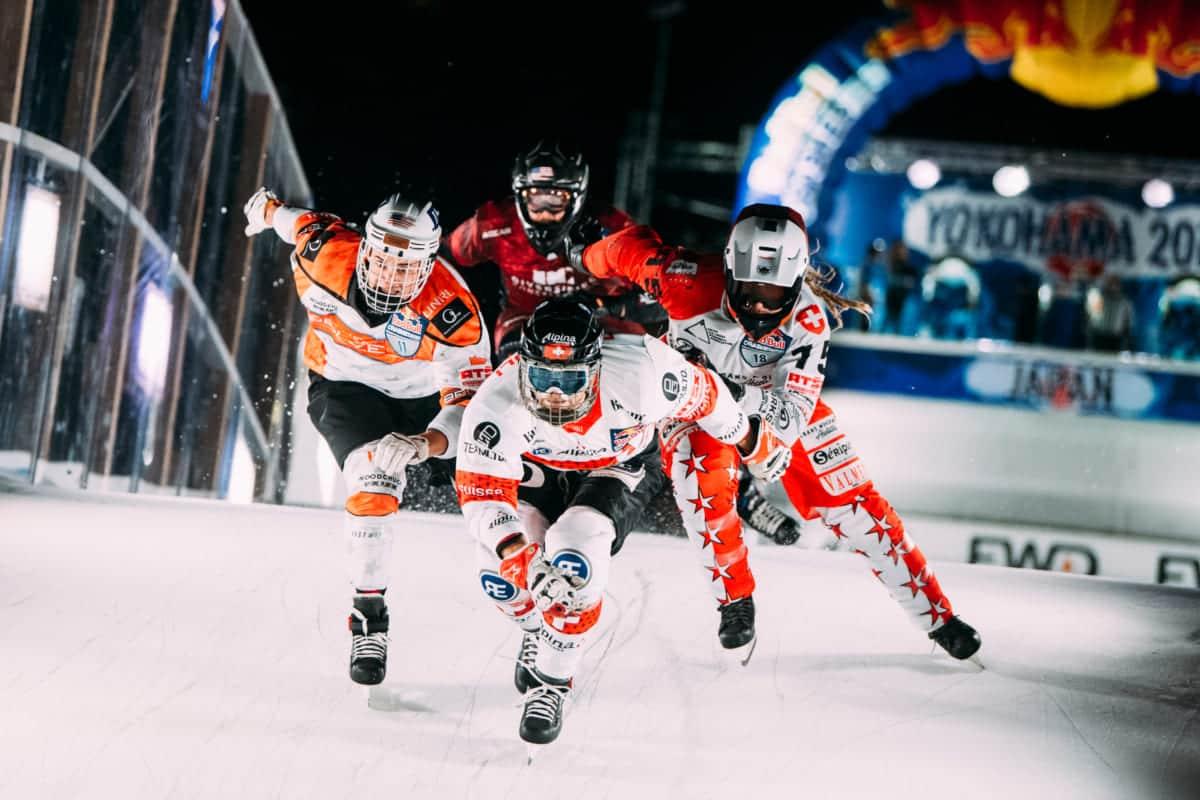 クールな氷上レースが日本初開催!エクストリームスポーツ『アイスクロス・ダウンヒル』観戦記