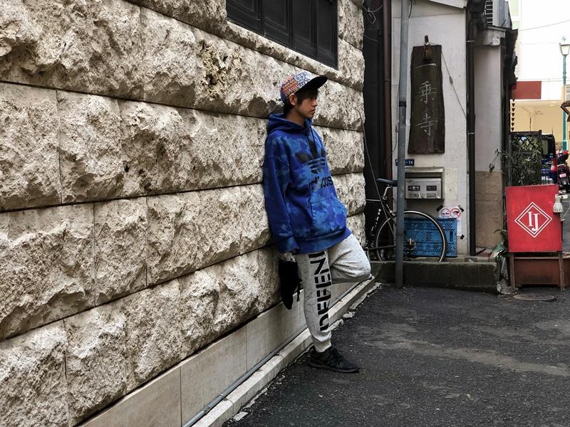 【100人の映画×音楽×スニーカー】<file.10>美容師のTAKAさん