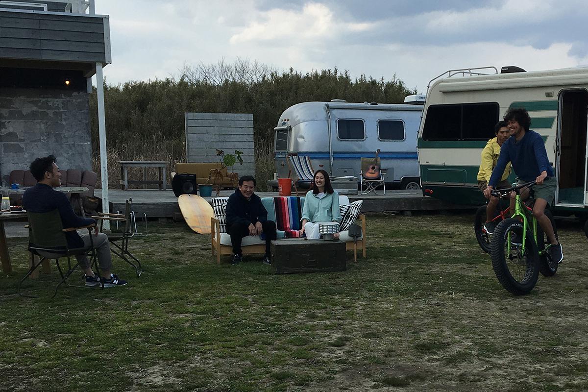 三浦理志が釣り・BBQ・バイクでリフレッシュ!ニューバランスTVCM撮影舞台裏インタビュー<潜入レポート>
