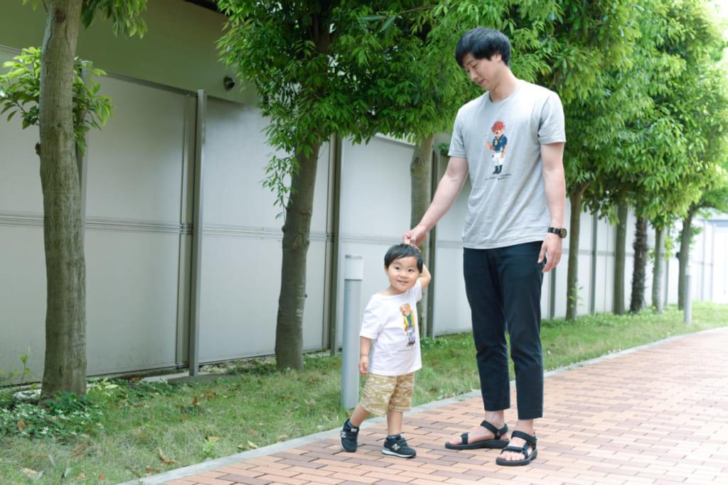 子どもと一緒のオフシーズン。川崎ブレイブサンダース長谷川技選手<Bリーグ×ファッションの密な関係Vol.17>