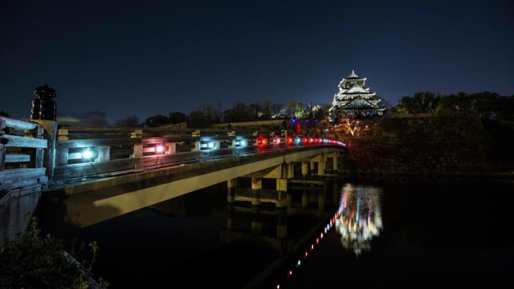 体験型ナイトウォーク『サクヤルミナ』 大阪城公園は夜、魔法がかかる!?