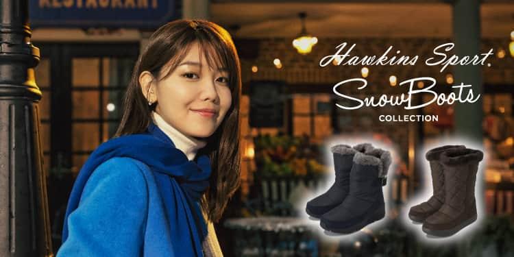 <潜入レポート>韓国女優・スヨンが雪降る中でダンス♡ホーキンスのスノーブーツTVCM撮影現場をリポート!