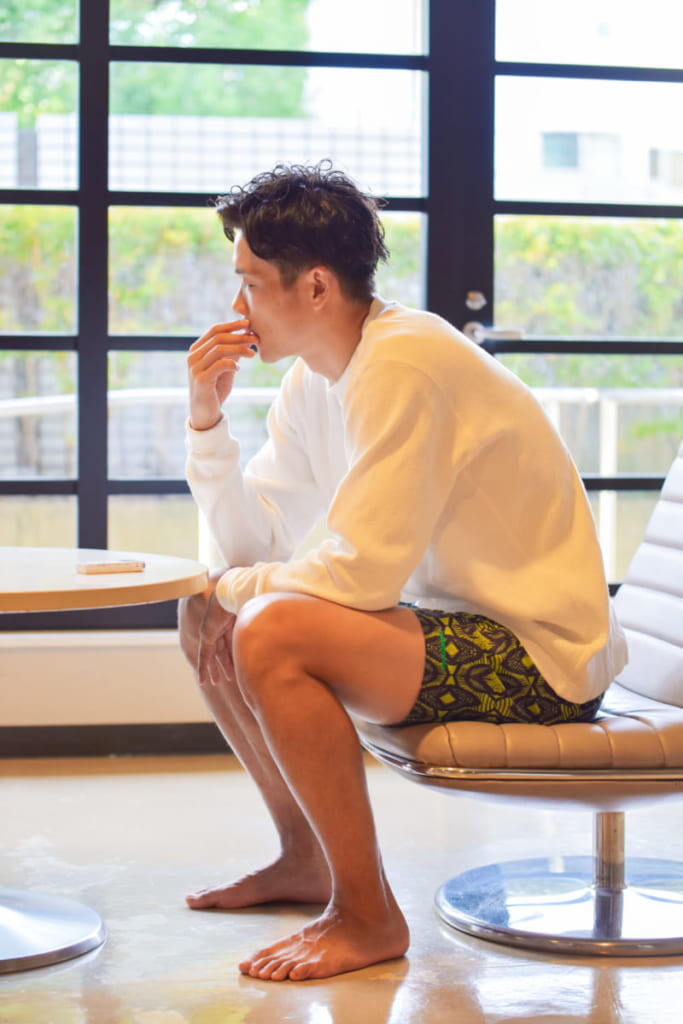 子どもと遊べる水着コーデ!横浜ビー・コルセアーズ 竹田謙選手<Bリーグ×ファッションの密な関係Vol.22>