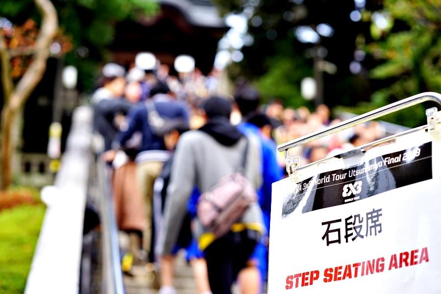 神社参道で3人制バスケ?『FIBA 3x3 World Tour Utsunomiya Final 2019』