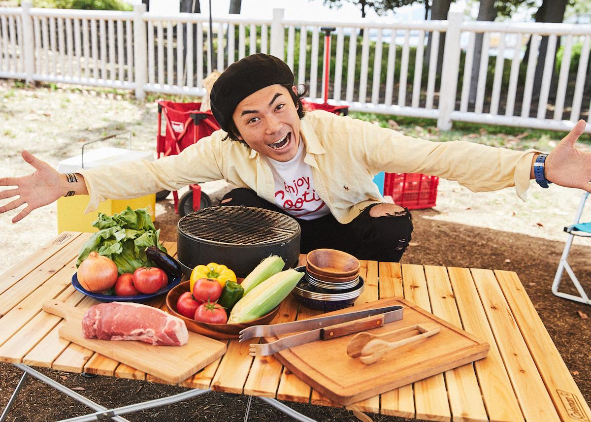 新鮮野菜を収穫してサラダ・BBQに!! 農業体験ができるグランピング