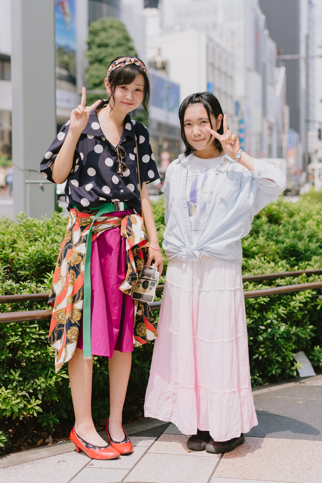 女子高生の最新ファッショントレンドをチェック!モデル・佐久間
