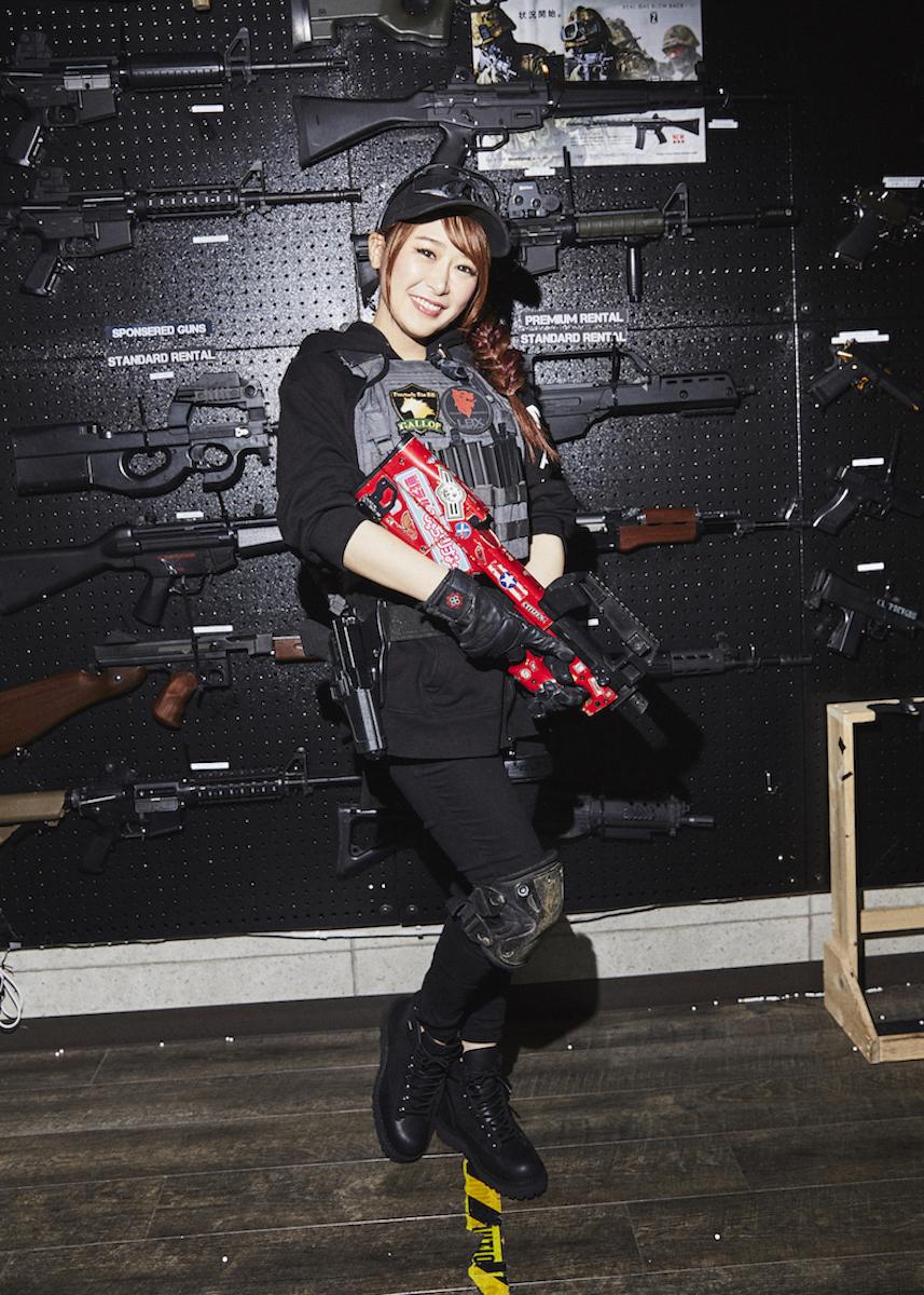 アウトドアといえばサバゲー! サバゲー女子・戦え!ぴっちょりーな☆が語るサバゲーの魅力&ミリタリーファッション