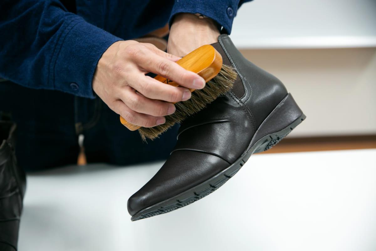 正しいケアで長く愛せるブーツに【スウェード素材】