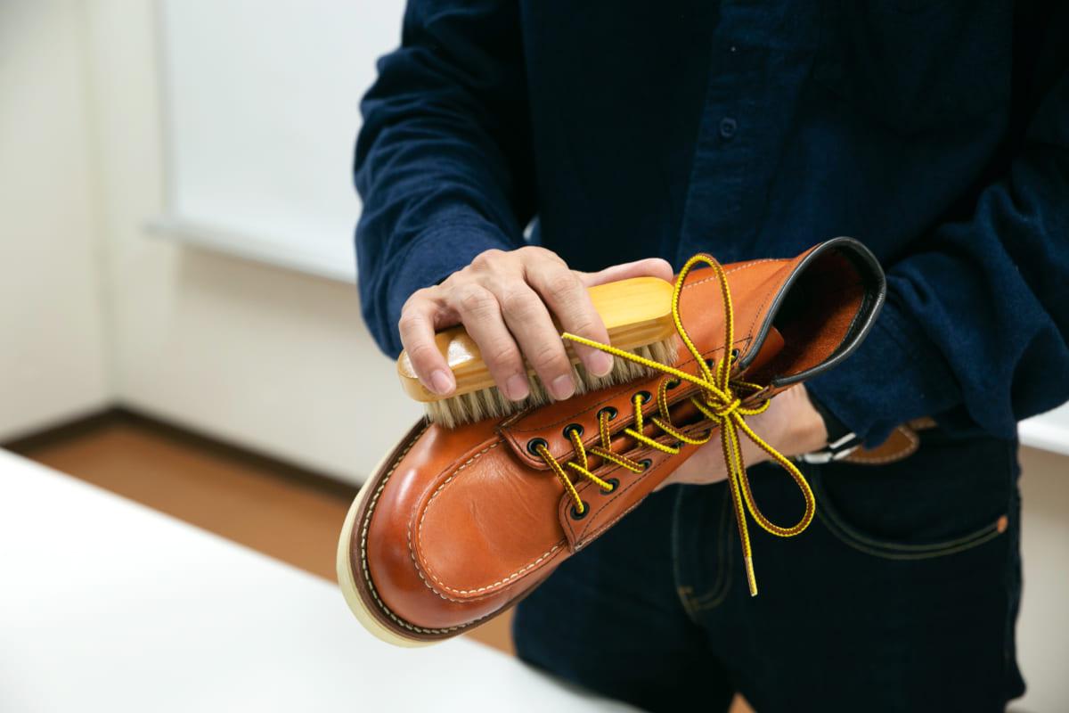 正しいケアで長く愛せるブーツに【オイルレザー素材】