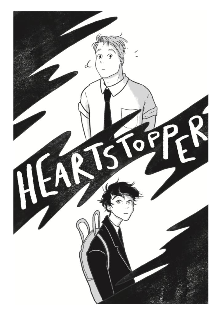 主人公の愛用スニーカーはヴァンズ。話題の青春BLコミック『HEARTSTOPPER』