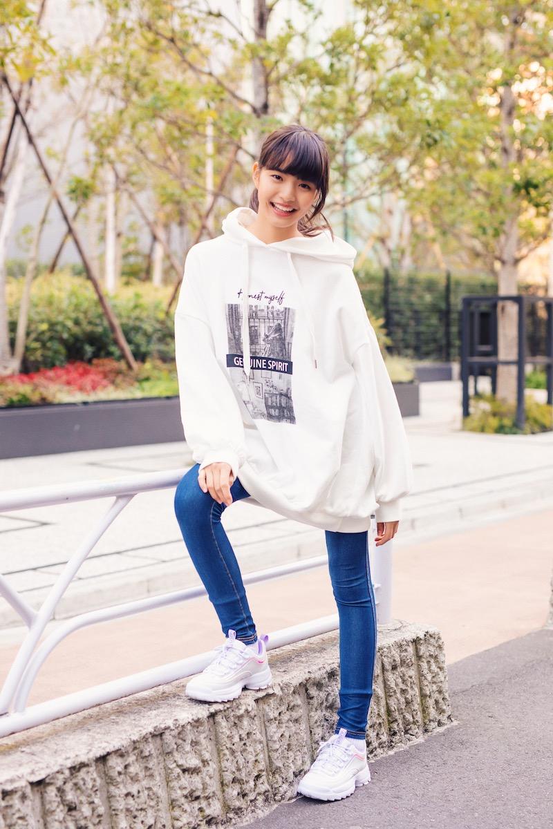 今、オシャレな女の子は断然ボリュームスニーカー!「ニコ☆プチ」モデル・美月ちゃんの私服コーデ&インタビュー