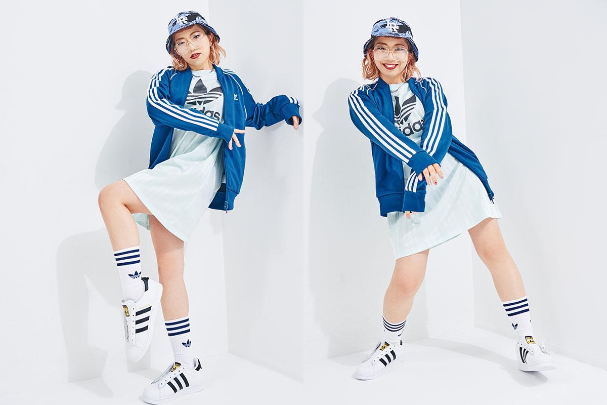 振付師・akaneが語るダンス×ファッションの深い関係。アディダス オリジナルス スーパースター インタビュー