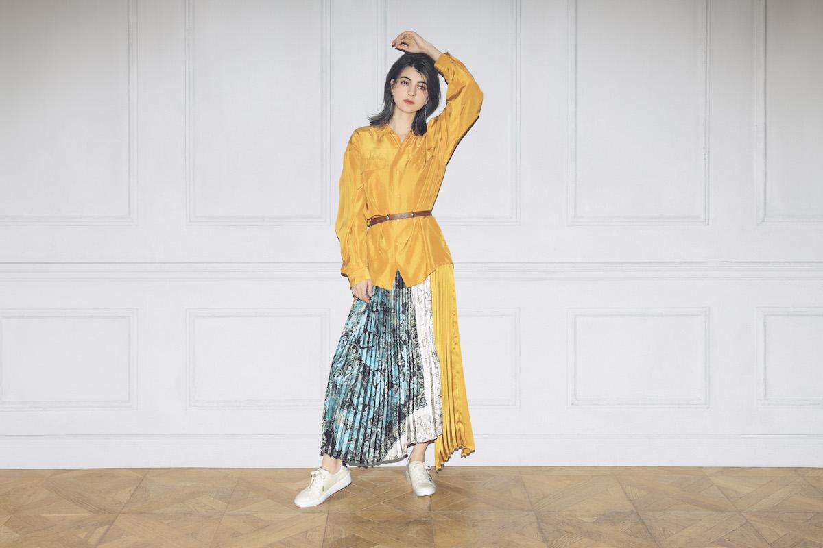 モデル・マギーがオススメするルコック新作エキゾチック ヒールコレクションで秋らしい大人カッコいいファッションへ!