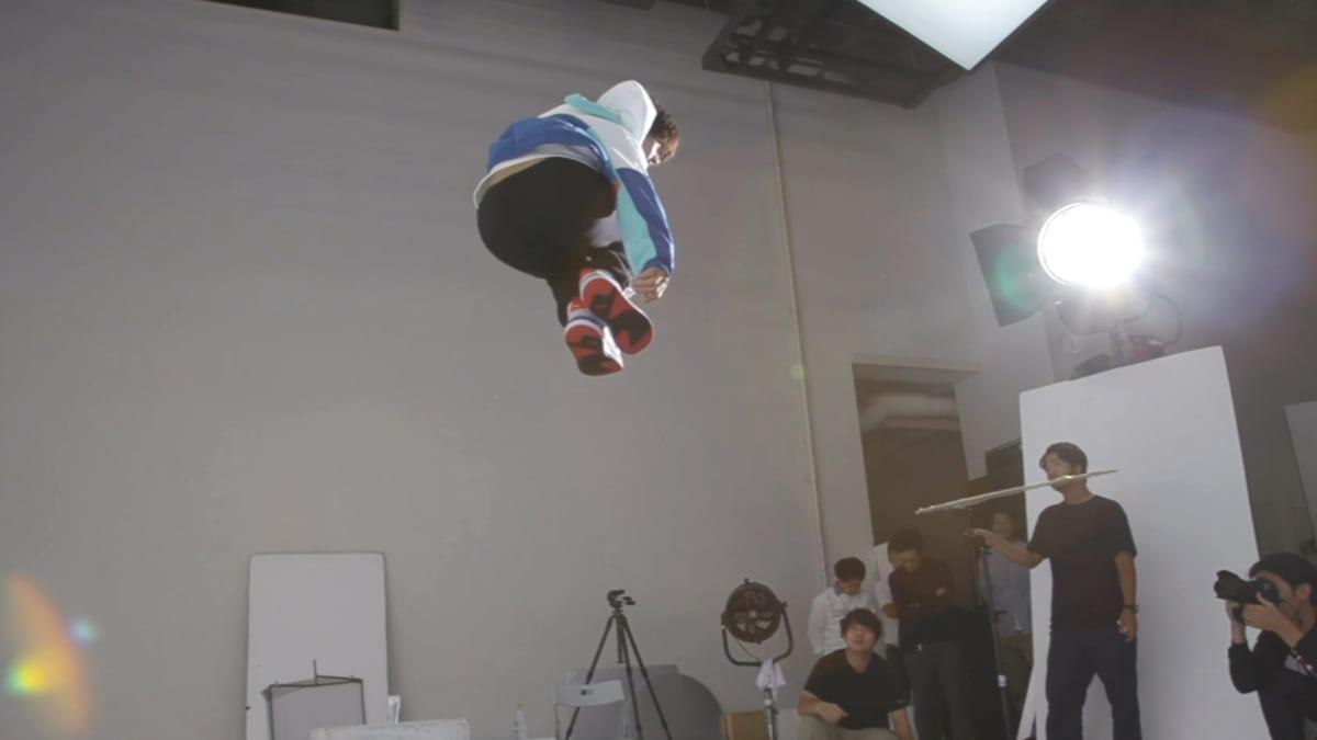 佐野勇斗がプーマ<X-RAY>を履いて華麗にジャンプ!スペシャルムービー撮影&インタビュー<潜入レポート>