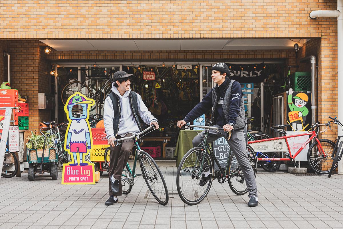 BLUE LUGスタッフに聞くサイクリングのススメ!街乗りや通勤におすすめの自転車×ファッション×ヴァンズ