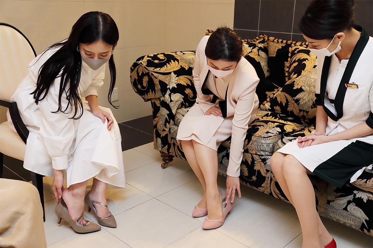 ママモデル・丸山悠美が美のプロフェッショナルにお悩み相談!スリムビューティハウスに聞いた美脚を叶える方法【パンプス編】