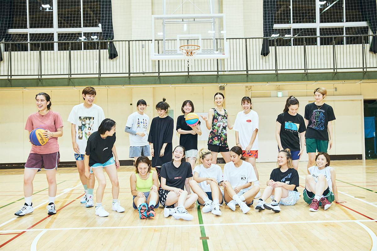 プレーもウェアも自由にバスケを楽しむ女子のバッシュ試し履き会&インタビュー【AKTR×Goddess Basketball Club】